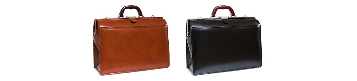 デザインと機能性を兼ね備えた日本製本革のダレスバッグ