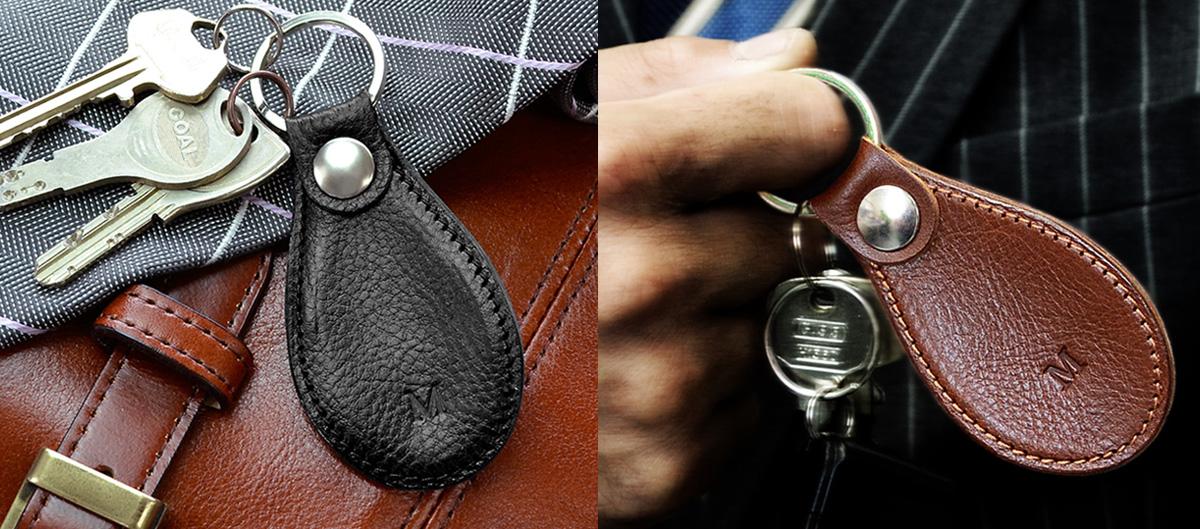 イニシャル入りの靴べらキーホルダー、こだわりの日本製
