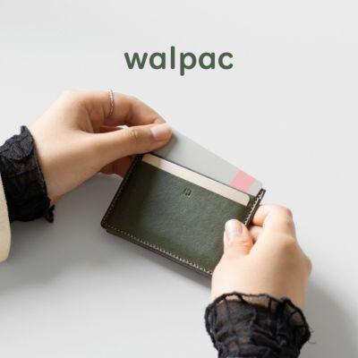 walpac(ウォルパック) コイン & カードケース 本革 小銭入れ メンズ 日本製 KG-Y167
