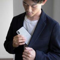 asoboze(アソボーゼ) iPhone ケース XS X 10 天然石 ナチュラルストーン 日本製 アイフォン スマホ カバー FS-J169 ポスト投函便送料無料