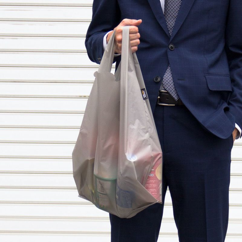 Regile レジルLサイズ エコバッグ メンズ 日本製 折りたたみ コンビニ 袋 ZE-V168 ポスト投函便送料無料